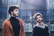 """02/05/2019 – El colombiano Sebastián Yatra presentó ayer su nueva canción llamada """"En Guerra"""" del álbum """"Fantasía"""" en la cual, con su compatriota…"""