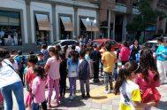 Los niños también son destinatarios del mes misionero extraordinario, y en La Paz (Entre Rios) un grupo de niños renovó sus promesas bautismales…