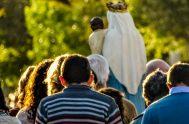 Un rosario, una esperanza, la mirada fija en María y a seguir andando nomás. Me rebalsa el corazón de alegría al ver a…