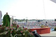 Durante la misa de envío de la JMJ 2019 en Panamá, el Papa Francisco llamó a los jóvenes del mundo a dejarse enamorar…