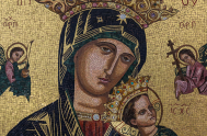 ¡Hola! Hoy quiere presentarte a Nuestra Señora del Perpetuo Socorro, es la patrona de los misioneros redentoristas. Breve y rápidamente te cuento…