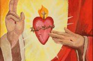 """""""Sagrado Corazón de Jesús En vos confío"""" ¿Qué tiene el corazón de Jesús? ¿Por qué nos atrae? ¿Qué nos dice su corazón? En…"""