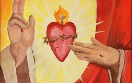 """""""Sagrado Corazón de Jesús En vos confío"""" ¿Qué tiene el corazón de Jesús? ¿Por qué nos atrae? ¿Qué nos dice…"""